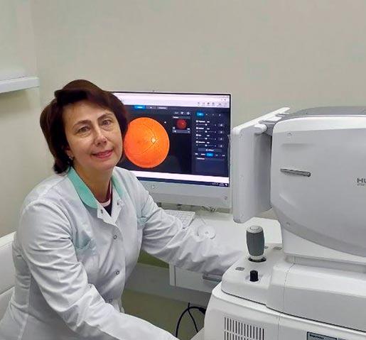 Тронько Катерина Миколаївна, кандидат медичних наук, лікар офтальмолог вищої кваліфікаційної категорії
