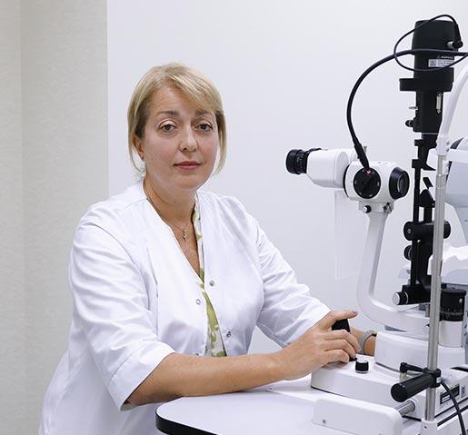 Обухова Ірина Анатоліївна, лікар офтальмолог вищої кваліфікаційної категорії