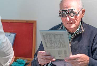 Знижки на діагностику зору для пенсіонерів
